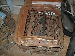 1962-65 Bucket Seats With Chrome Used Good Extra Parts Rat Rod