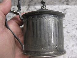 Vintage Wilcox Silver Plate Sugar Holder Made In America 85 Excellent Condition