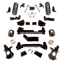 6 Gm Suspension Lift Kit - 1500 4wd With Front Strut Spacers