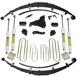 8 Ford Suspension Lift Kit - 1999 F-250/350 4wd - Made On Or After 3-1-99 - Squ