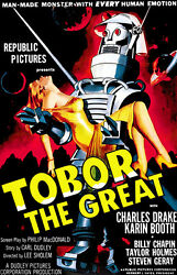 Tobor The Great - 1954 - Movie Poster