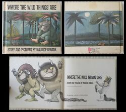 Book Where The Wild Things Are Childrens Club Edition Maurice Sendak 1963