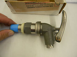New Protectoseal Self Closing Stainless Steel 3/4 Npt Drum Faucet F506g C5