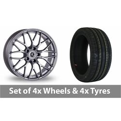 4 X 18 Ac Wheels Saphire Silver Alloy Wheel Rims And Tyres - 215/55/18