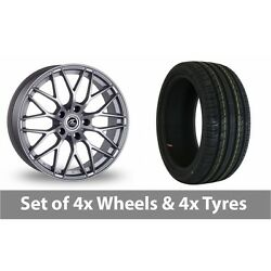 4 X 19 Ac Wheels Saphire Silver Alloy Wheel Rims And Tyres - 245/45/19