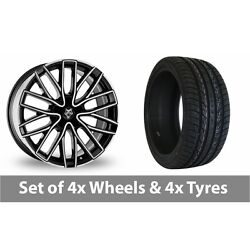 4 X 20 Wolf Design Wolf Design Gtp Alloy Wheel Rims And Tyres - 295/40/20