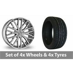 4 X 22 Wolf Design Wolf Design Gtp Alloy Wheel Rims And Tyres - 295/30/22