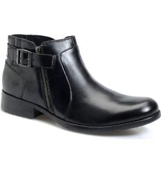 Nwt Born Menand039s Hebert Black Full-grain Leather Boots Size 10 10.5 11 11.5