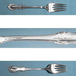 Fine Arts Sterling Salad Forks Southern Colonial No Mono