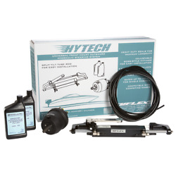 Uflex Hytech 1 Hydraulic Steering Kit 150hp Max Helm-actuator Cylinder-hose Boat