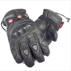 GERBING XRS12 MOTORCYCLE HYBRID HEATED GLOVES COMMUTING TOURING WATERPROOF BREAT