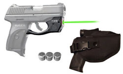 Armalaser Tr9-g Ruger Lc9 Lc9s Lc380 Ec9s Green Laser +grip Activation And Holster
