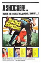 Girl On A Chain Gang Movie Poster 27x40 B William Watson Julie Ange Ron Charles