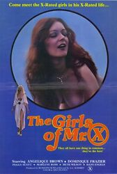 The Girls Of Mr. X Movie Poster 27x40 Carnal Candy Leo Ford Missy Howard Morgan