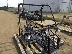 EB204 2009 YAMAHA YXR700F RHINO 700 FRAME ASSEMBLY ACTIVE WITH ROLL CAGE BAR
