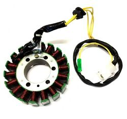 18 Coil Stator With Pickup Coil 250cc Water Cooled Motors Cn250 Ch250