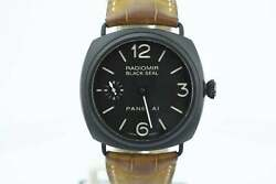 Panerai Radiomir PAM292 Black Ceramic Sandwich Dial Manual Wind