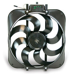 FLEX-A-LITE 160 15in S-Blade Electric Fan wTemp Control