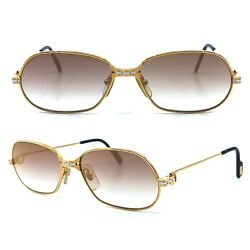 OCCHIALI CARTIER PANTHERE SM ROSE GOLD LIMITED EDITION VINTAGE SUNGLASSES 1980's