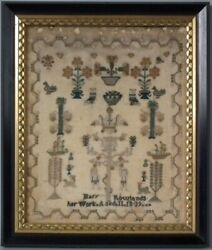 Antique Sampler 1839 By Mary Rowlands