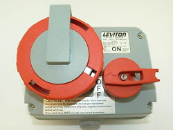 Leviton 530mi7w 30a 3phy 277/480v 20hp Pin And Sleeve Power Switch
