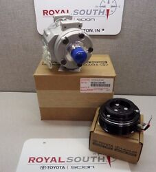 Toyota Tacoma 05 - 15 Air Conditioning A/c Compressor And Clutch Genuine Oe Oem