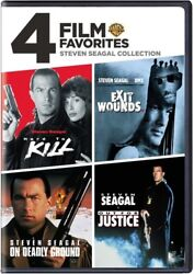 4 Film Favorites Steven Seagal Collection [new Dvd] Widescreen