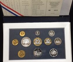 1995 France Proof Deluxe Set - Gadoury Pg. 288 - Rarely Offered