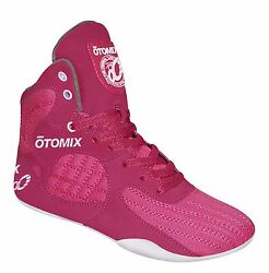 Otomix Stingray Escape Bodybuilding Weightlifting Mma And Grappling Shoes Pink