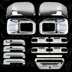 15-16 Ford F150 Fog Lamp/mirrors 4 Door Handles 4 Bowls 1 Tailgate Chrome Covers