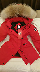 2018 LATEST CONCEPT EDITION RED LABEL RED CANADA GOOSE TRILLIUM LG PARKA JACKET