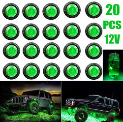 4pc Car Disc Brake Caliper Covers Front And Rear Kit 3d Style Red Universal