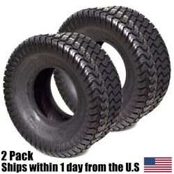2pk 18x9.50-8 18/9.50-8 Riding Lawn Mower Garden Tractor Turf Tires P332 4ply