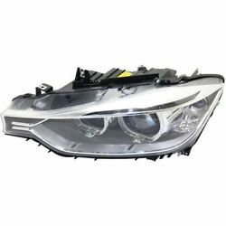 New Headlight Driver Side For Bmw 328i Bm2502181 2012 To 2015
