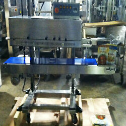 Telesonic Stainless Steel Rotary Band Sealer
