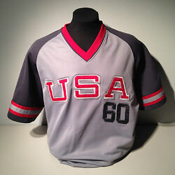 Muhammad Ali Boxing Gold Medalist Usa 1960 Rome Olympics Cassius Clay Jersey L