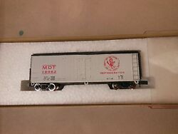 N Scale Con-cor Nyc Mdt 40' Wood Reefer