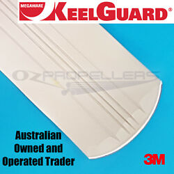 Keel Guard 11 Feet White Keel Protector Megaware Boat Length- Up To 28 Feet