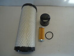 Engine Filter Service Kit For John Deere 1025r 2025r 2305 2320 Compact Tractor