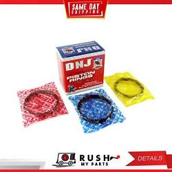 Dnj Pr3194c.30 Oversize Piston Ring Set For 70-90 Chevrolet Bel Air 7.4l Ohv