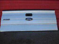 FORD F150 PICKUP TAILGATE REAR GATE  wSTEP OEM FACTORY 2009 10 11 2012 SILVER