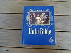 Masonic Holy Bible Master Reference Edition Heirloom 1964 Red Letter Freemasonry