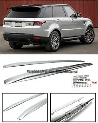 Side Roof Rail Cross Bar Top Luggage Carrier Silver For 14-up Range Rover Sport