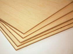 BALTIC BIRCH PLYWOOD 1 4quot; 6mm BY APPROX 12quot; X 24quot; 12 PIECES