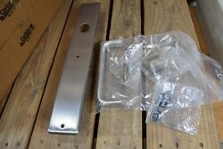 Lot Of 9 Corbin Russwin T1357 630 Exit Device Trim Pack Less Cyl Nos