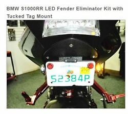 Bmw S1000rr Led Fender Eliminator Kit With Tucked Tag Mount Sport Bike Lites