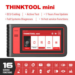 All System Bi-directional Obd2 Car Diagnotic Scanner Dfp Immo Tpms Thinktool Min