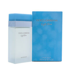 Light Blue By Dolce And Gabbana Dandg 6.7 Oz Edt Perfume For Women New In Box