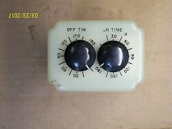 Potter And Brumfield Adjustable Timer Relay 1.8-180 Sec With Base , Crb-48-70180