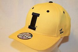 Iowa Hawkeyes Hat Cap The Gold Fitted Dh Cap I  By Zephyr Ncaa Caps